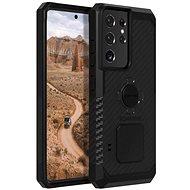Rokform Rugged tok Samsung Galaxy S21 Ultra készülékhez, fekete - Mobiltelefon hátlap