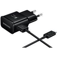 Samsung EP-TA20EW USB-C fekete - Töltő