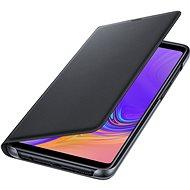 Samsung Galaxy A9 Flip Wallet Cover fekete - Mobiltelefon tok