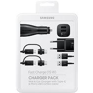 Samsung Charger Pack fekete - Szett