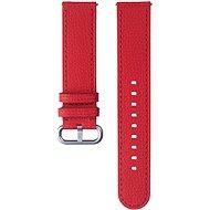 Samsung Braloba Essence bőrszíj Galaxy Watch Active 2 okosórához, 20mm - piros - Szíj