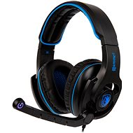 Sades B-Power fekete kék - Gamer fejhallgató  03c010424e