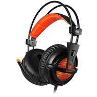 Sades A6 7.1 narancssárga - Gamer fejhallgató
