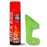 Készlet - SAFE 500 Tűzoltó spray + SAFE 50F Tartó - Tűzoltó készülék