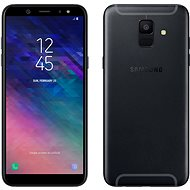 Samsung Galaxy A6, fekete - Mobiltelefon