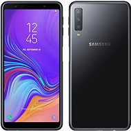 Samsung Galaxy A7 Dual SIM, fekete - Mobiltelefon