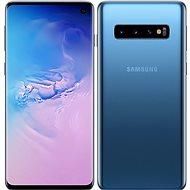 Samsung Galaxy S10 Dual SIM 128 GB kék - Mobiltelefon