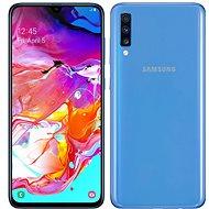 Samsung Galaxy A70 Dual SIM, kék - Mobiltelefon