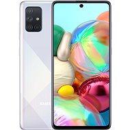 Samsung Galaxy A71 ezüst színű - Mobiltelefon