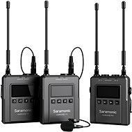Saramonic UwMic9S (TX + TX + RX) - Mikrofon