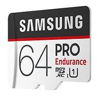 Samsung PRO Endurance microSDXC 64GB + SD adapter