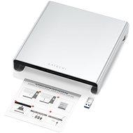 Satechi alumínium monitor állvány hub az iMac számára - ezüst - Monitor emelvény