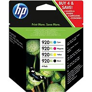 HP 920XL (C2N92A) combo pack - Tintapatron