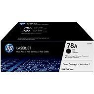 HP CE278AD 78A sz. dual pack - Toner