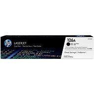 HP CE310AD black 126A sz. dualpack - Toner