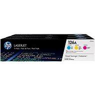 HP 126A multipack (CF341A) - Toner