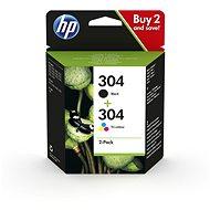 HP 3JB05AE No. 304 multipack fekete + háromszínű - Tintapatron