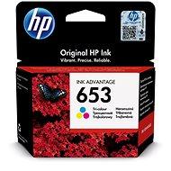HP 3YM74A 653 színes - Tintapatron