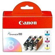 Canon CLI-8 C/M/Y Pack - ciánkék, bíbor, sárga - Tintapatron