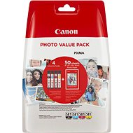 Canon CLI-581 XL Multipack + fotópapír PP-201 - Szett