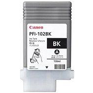 Tintapatron Canon PFI-102BK fekete - Cartridge