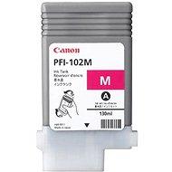 Tintapatron Canon PFI-102M piros - Cartridge