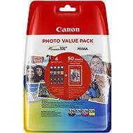 Canon CLI-526 multipack + fotópapír PP-201 - Tintapatron