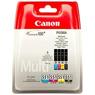 Canon CLI-551 Multipack - Tintapatron