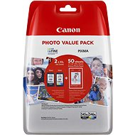 Canon PG-545XL + CL-546XL + fotópapír GP-501 - Tintapatron