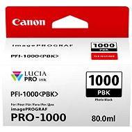 Canon PFI-1000PBK fekete - Tintapatron