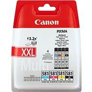 Canon CLI-581 C/M/Y/BK XXL Multipack - Tintapatron