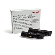 Xerox 106R02782 dualpack fekete - Toner