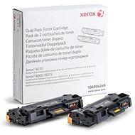 Xerox 106R04349 Dualpack fekete - Toner