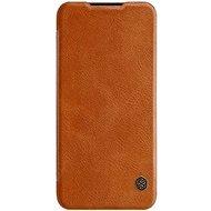 Nillkin Qin Book tok Xiaomi Redmi 7 készülékhez, barna - Mobiltelefon tok