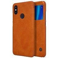 Nillkin Qin S-View Xiaomi Mi A2-höz barna - Mobiltelefon tok