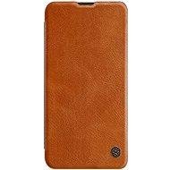 Nillkin Qin Book tok Samsung Galaxy A50 készülékhez, barna - Mobiltelefon tok