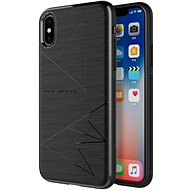 Nillkin Magic Case QI Fekete iPhone X-hez - Mobiltelefon hátlap