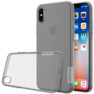 Nillkin Nature Apple iPhone X számára Grey - Mobiltelefon hátlap