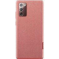 Mobiltelefon tok Samsung Környezetbarát hátlap tok újrahasznosított anyagból Galaxy Note20 készülékhez, piros - Pouzdro na mobil