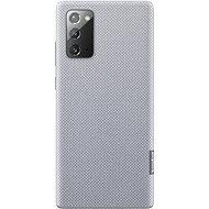 Mobiltelefon tok Samsung Ecological újrahasznosított anyagból készült hátlap Galaxy Note20 szürke - Pouzdro na mobil