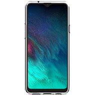 Samsung félig átlátszó hátlap a Galaxy A20s készülékhez, átlátszó