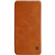 Nillkin Qin Book tok Xiaomi Redmi Note 6 Pro készülékhez barna