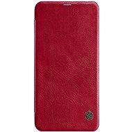 Nillkin Qin Book tok Xiaomi Redmi Note 6 Pro készülékhez piros