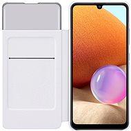 Samsung Flip Case S View -  Galaxy A32 készülékre, fehér - Mobiltelefon tok