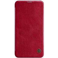 Nillkin Qin Book Samsung Galaxy S10 Lite készülékhez, piros - Mobiltelefon tok
