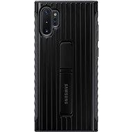 Samsung edzett hátlap védőtok állvánnyal Galaxy Note10+ készülékhez, fekete