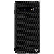 Nillkin Textured Hard Case Samsung S10+ készülékhez, fekete - Mobiltelefon hátlap