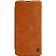 Nillkin Qin Book tok Samsung Galaxy Note 10 készülékhez, barna