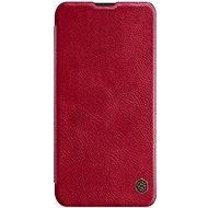 Nillkin Qin Book tok Samsung Galaxy Note 10+ készülékhez, piros - Mobiltelefon tok