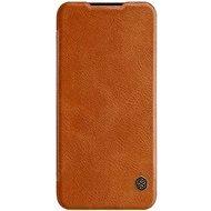 Nillkin Qin Book tok Xiaomi Mi A3 készülékhez, barna - Mobiltelefon tok